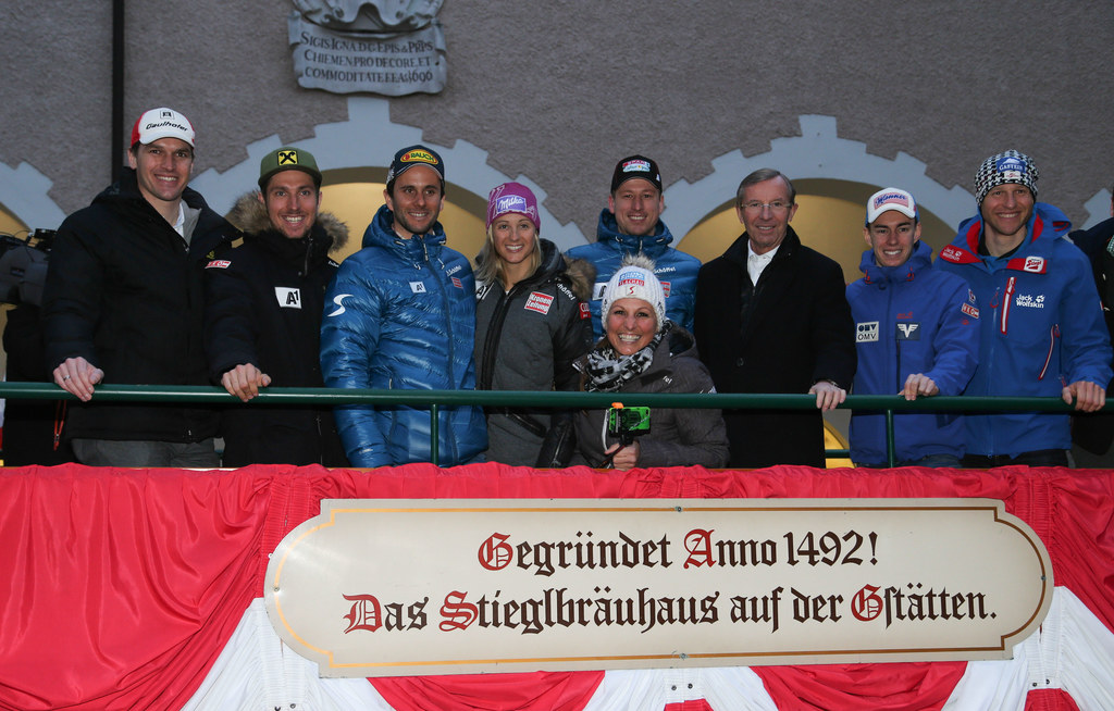 Matthias Lanzinger, Marcel Hirscher, Philipp Schörghofer, Michaela Kirchgasser, ..