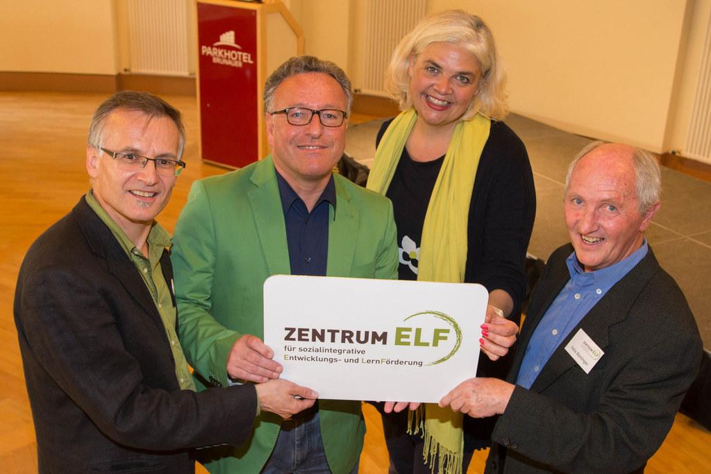 Erich Reiter, Landesrat Dr. Heinrich Schellhorn, Anja Hagenauer und Felix Baming..