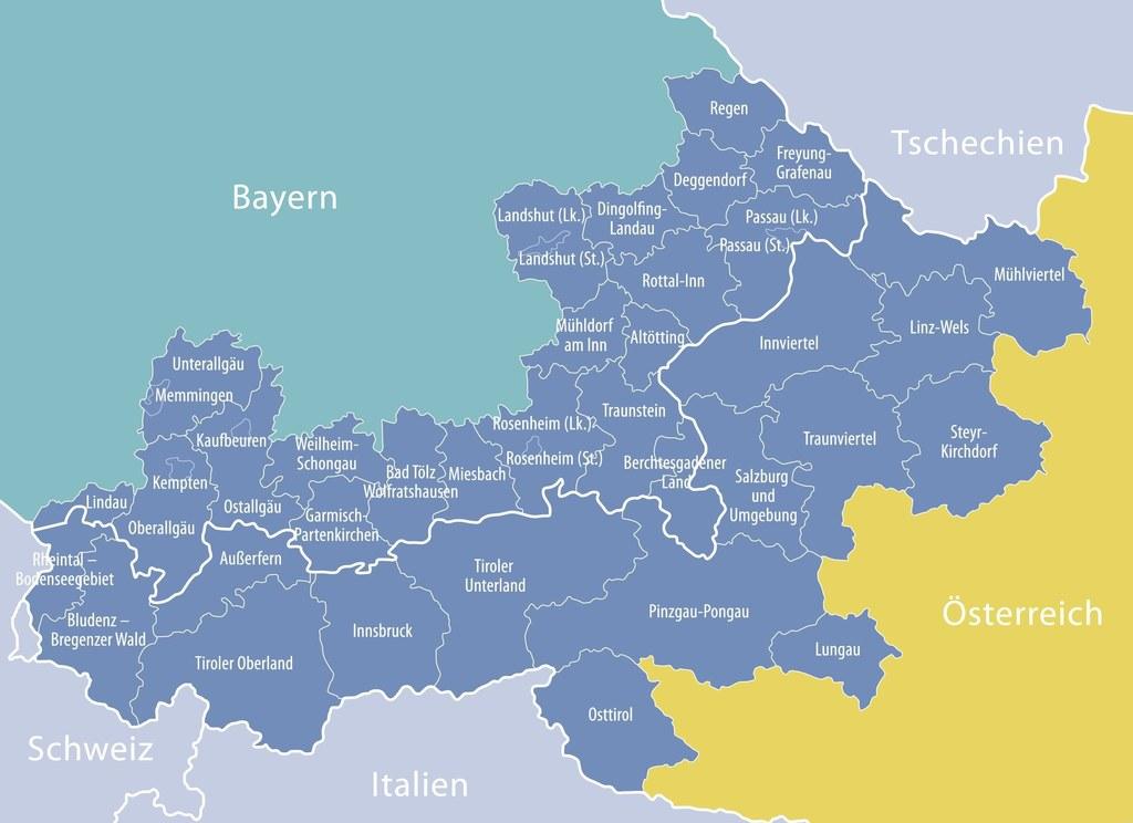 Interreg-Programm Österreich-Deutschland/Bayern