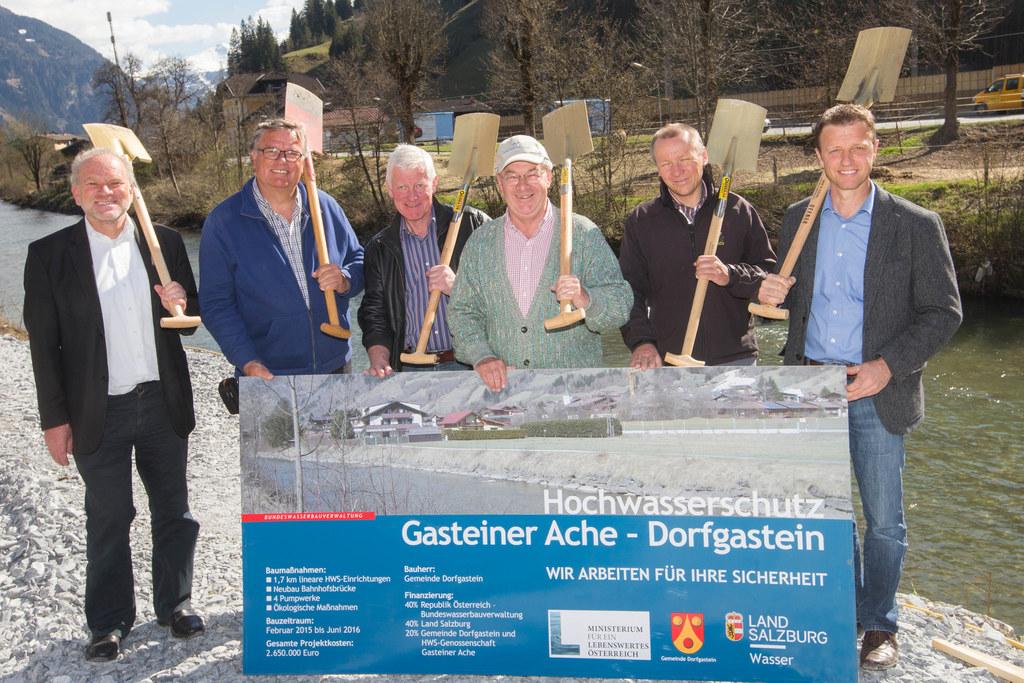 Robert Loizl, Rudi Trauner, Franz Aichstill, Rudi Egger, Thomas Prodinger und St..