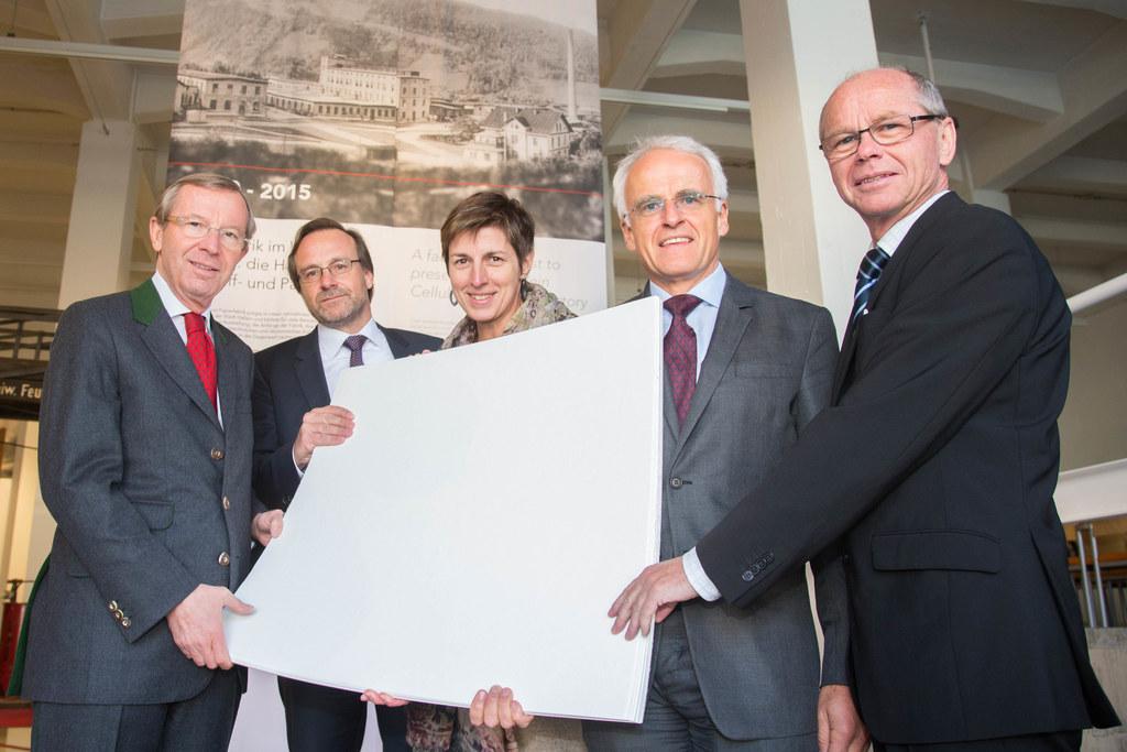 Landeshauptmann Dr. Wilfried Haslauer, Jörg Habring, Landeshauptmann-Stellvertre..
