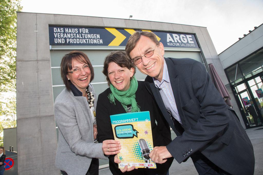 Brigitte Trinker, Barbara Sieberth und Wolfgang Schick