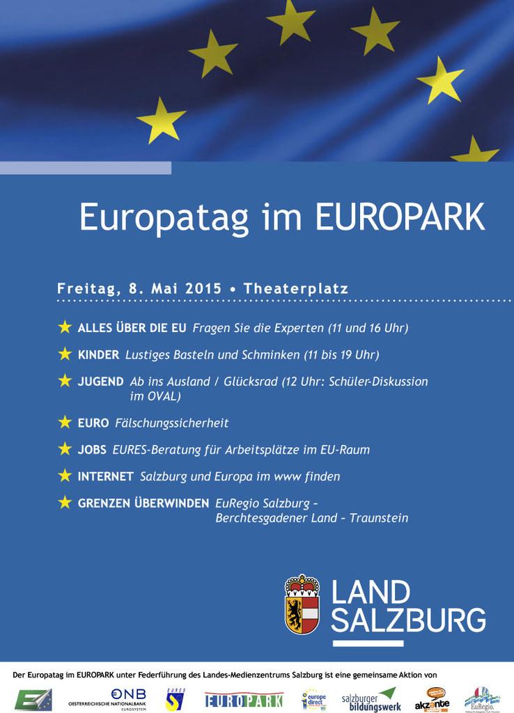 Europatag im Europark am 8. Mai