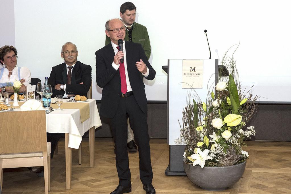 Landeshauptmann-Stellvertreter Mag. Dr. Christian Stöckl bei der Wiedereröffnung..