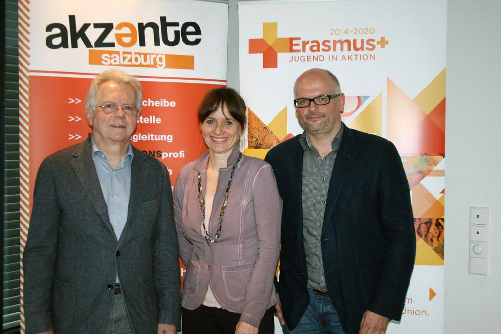 Univ.-Prof. Dr. Reinhard Popp, LR Mag. Martina Berthold und GF Alexander Mitter,..