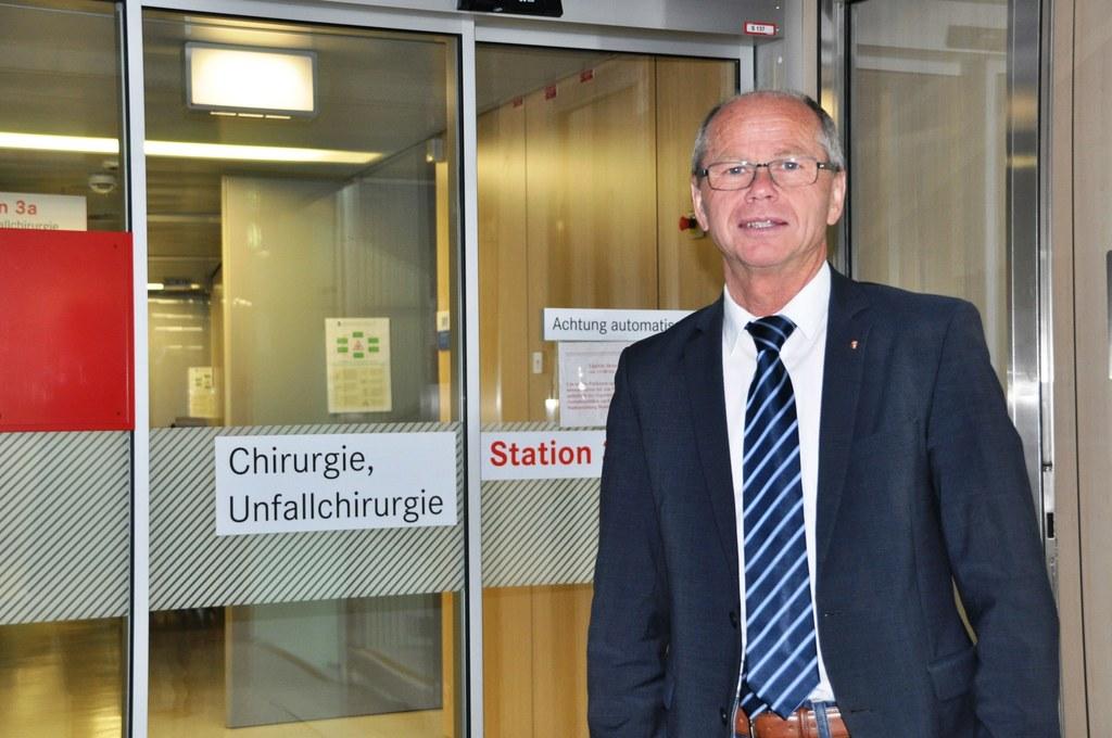 Spitals- und Gesundheitsreferent Christian Stöckl