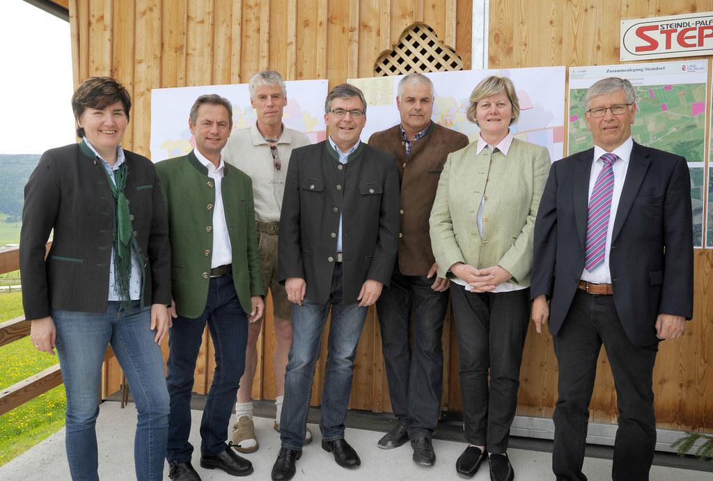 DI Friederike Moser, Dr. Franz Hauthaler, DI Wolfgang Haupolter, Landesrat DI Dr..