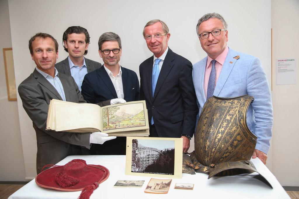 Mag. Peter Husty (Chefkurator Salzburg Museum), Dr. Christian Flandera (Projektl..