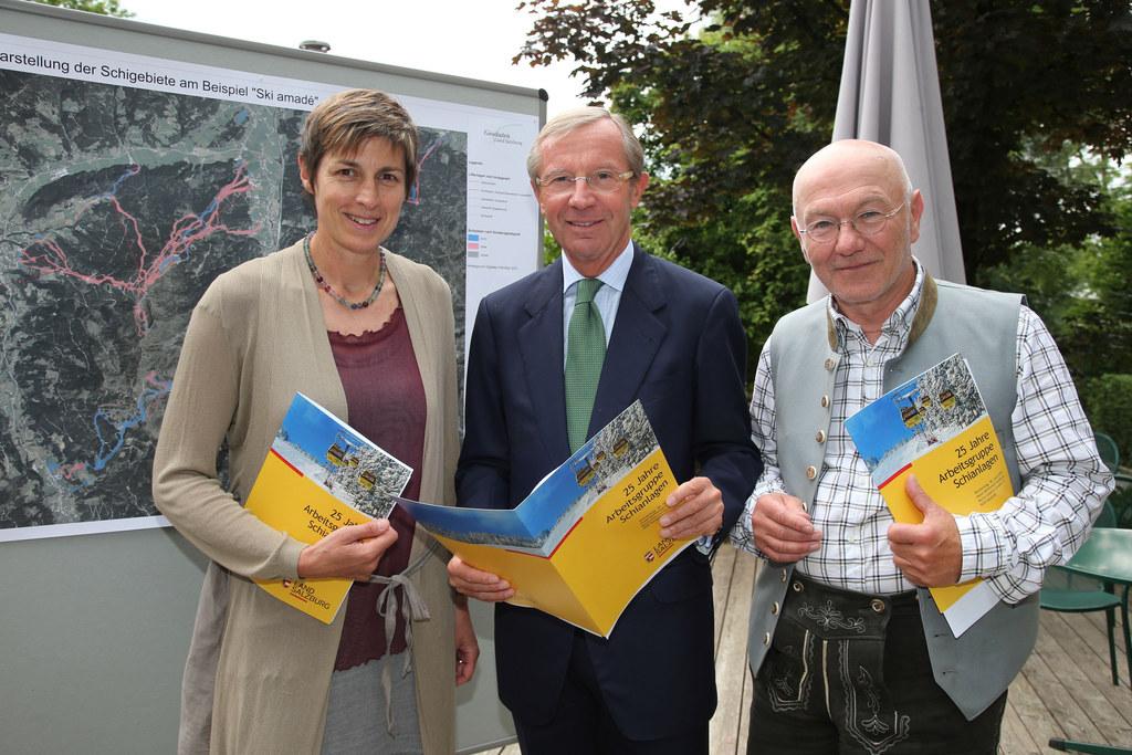 Landeshauptmann-Stellvertreterin Dr. Astrid Rössler, Landeshauptmann Dr. Wilfrie..