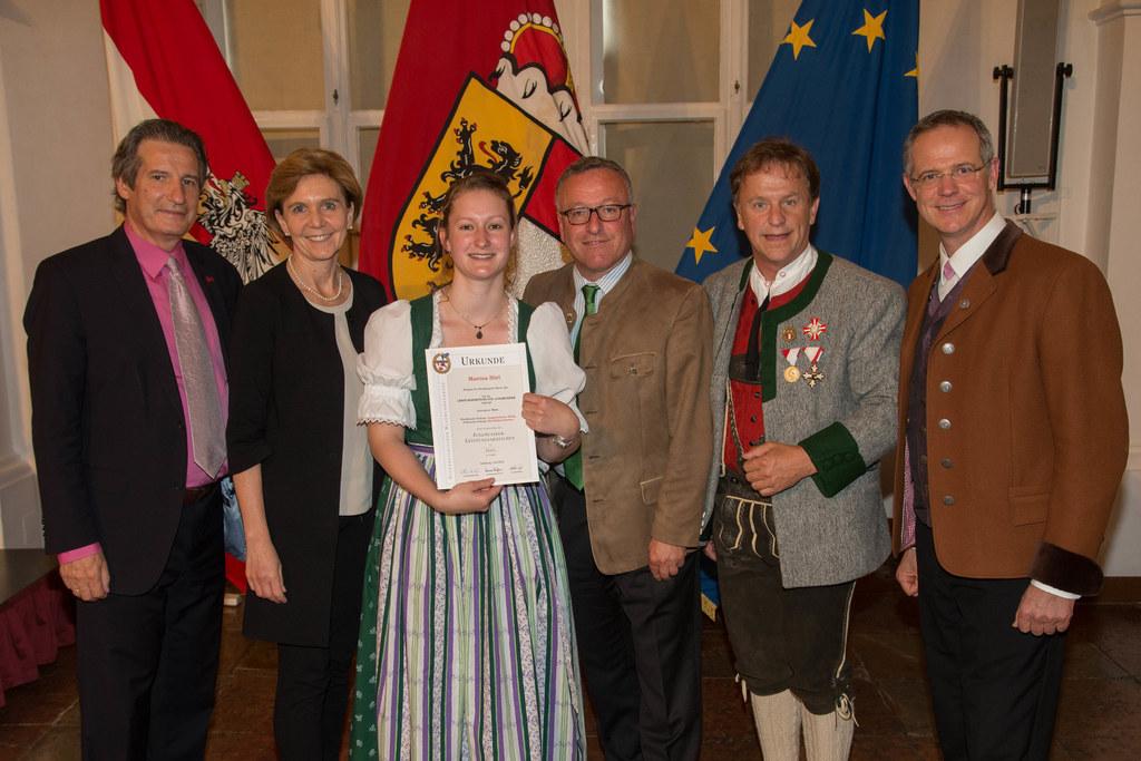 Auszeichnung für 64 junge Musikerinnen und Musiker in der Salzburger Residenz