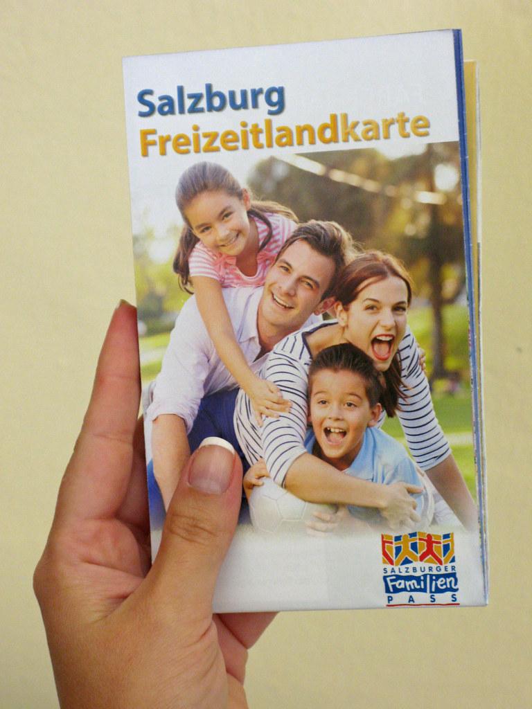 Salzburger Freizeitlandkarte