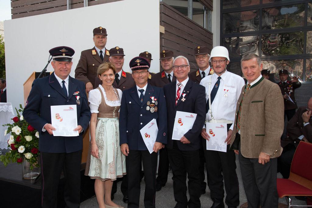 Einweihung des neuen Rüstlöschfahrzeugs der Freiwilligen Feuerwehr St. Koloman