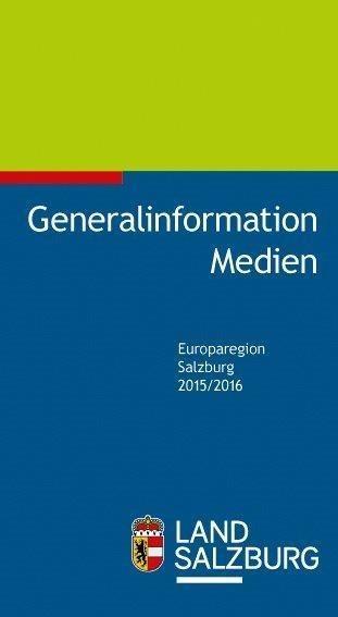 Generalinformation Medien 2015/2016