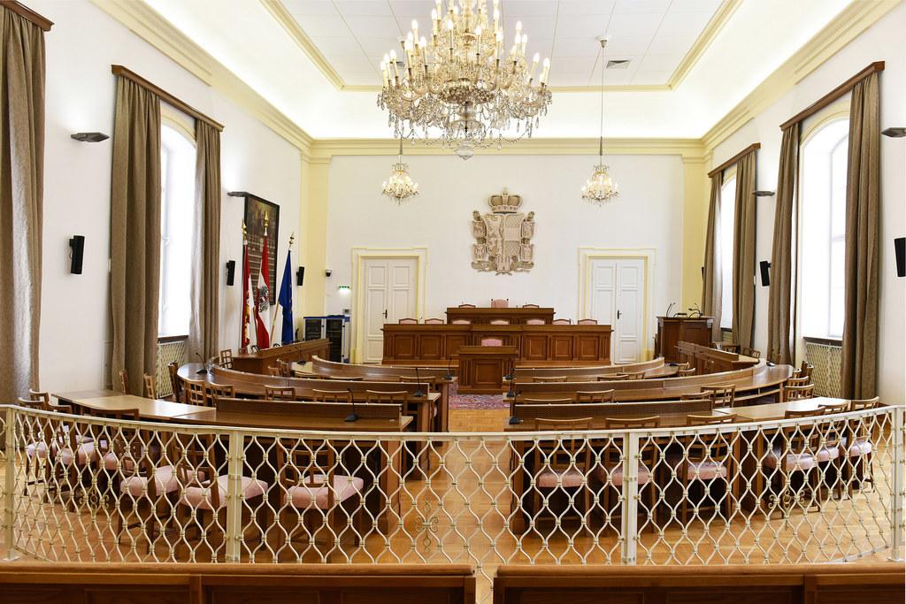 Die Plenarsitzung des Salzburger Landtags beginnt um 9.00 Uhr.