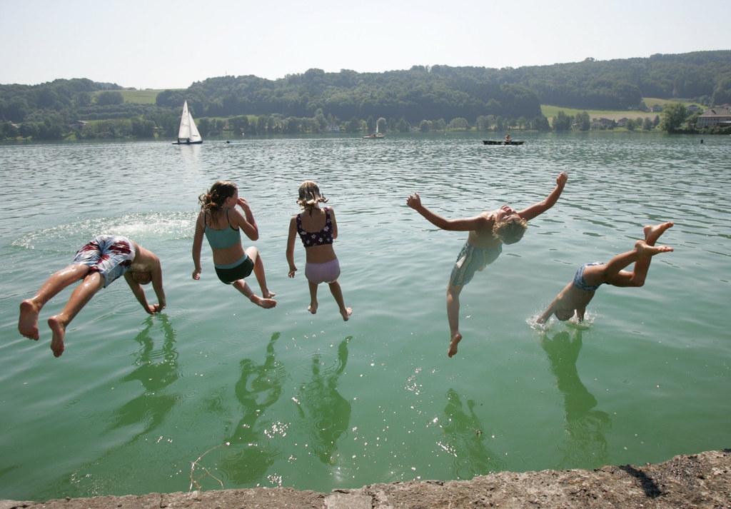 Wasserqualität Salzburgs Badeseen