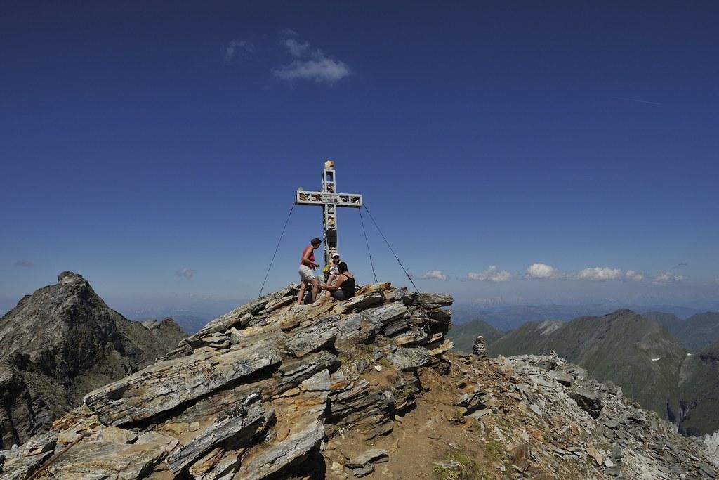 Gipfeltreffen auf dem Larmkogel