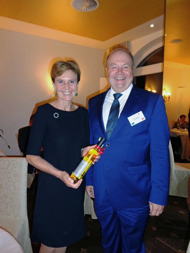 Landtagspräsidentin Dr. Brigitta Pallauf und Mag. Rainer Sedelmayer