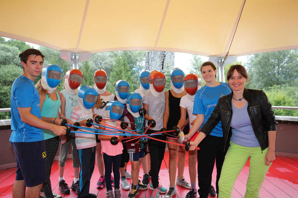 Jugend zum Sport in ULSZ Rif