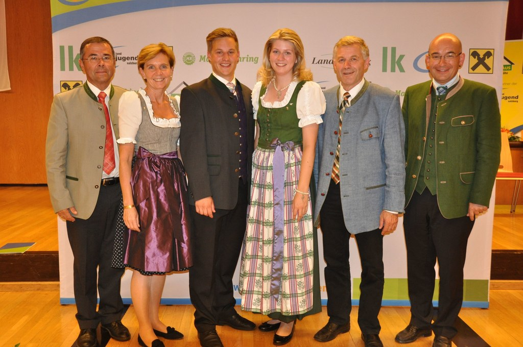 Kammeramtsdirektor der LK-Salzburg Nikolaus Lienbacher, Landtagspräsidentin Dr. ..