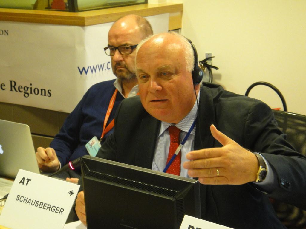 Dr. Franz Schausberger, Vertreter des Landes Salzburg im AdR