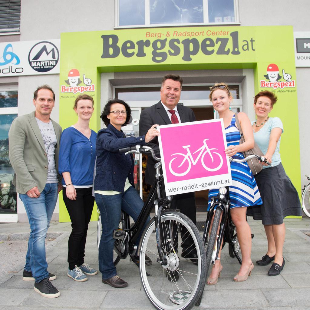 Günther Pailer (Bergspezl), Magdalena Perschl, Gewinnerin Gudrun Wielend, Landes..