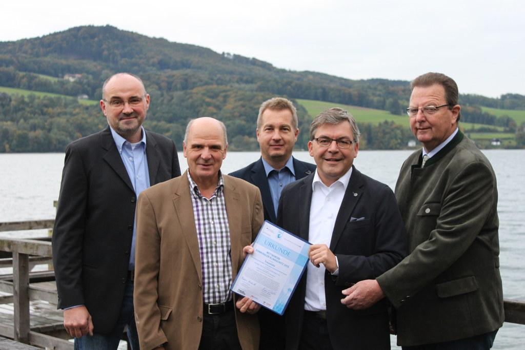 Dr. Gerhard Pausch (Energiekoordinator Regionalverband Salzburger Seenland), Bgm..
