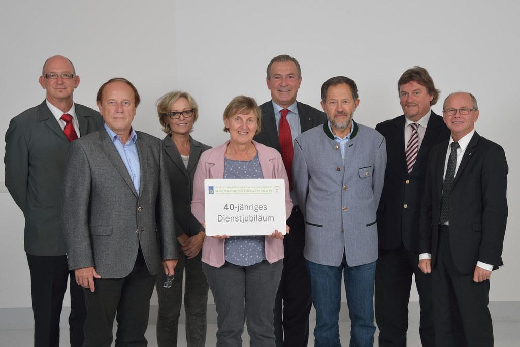 Oberarzt Dr. Gernot Luthringshausen, Hildegard Schatzberger, Christian Müller, C..