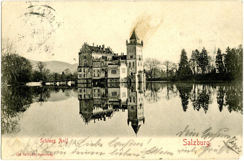Auf Schloss Anif entband Ludwig III., der letzte regierende Monarch Bayerns, Mil..