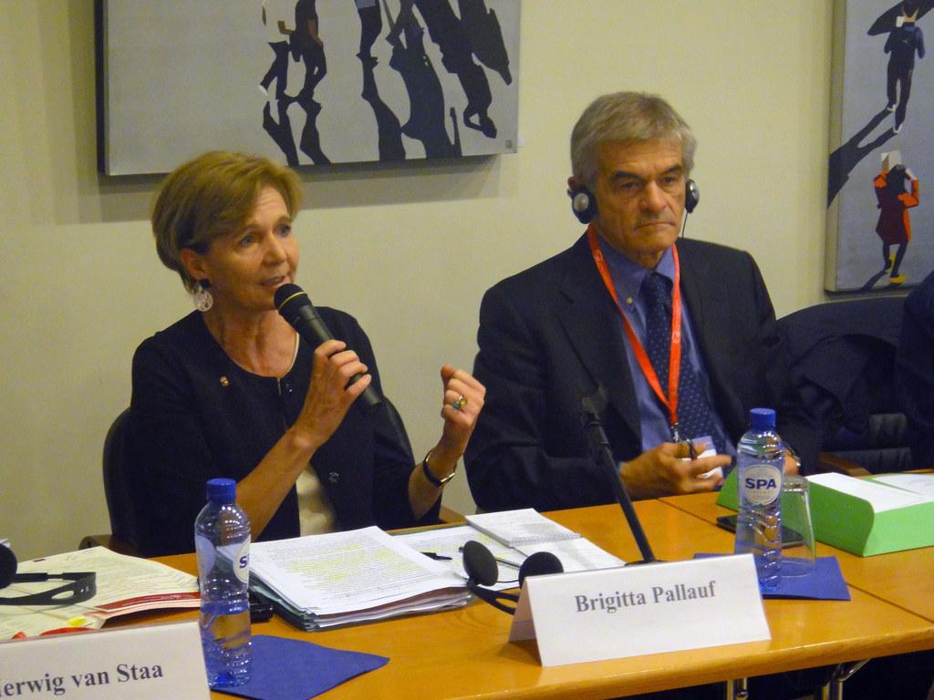 Landtagspräsidentin Dr. Pallauf bei der Europäischen Woche der Regionen in Brüss..