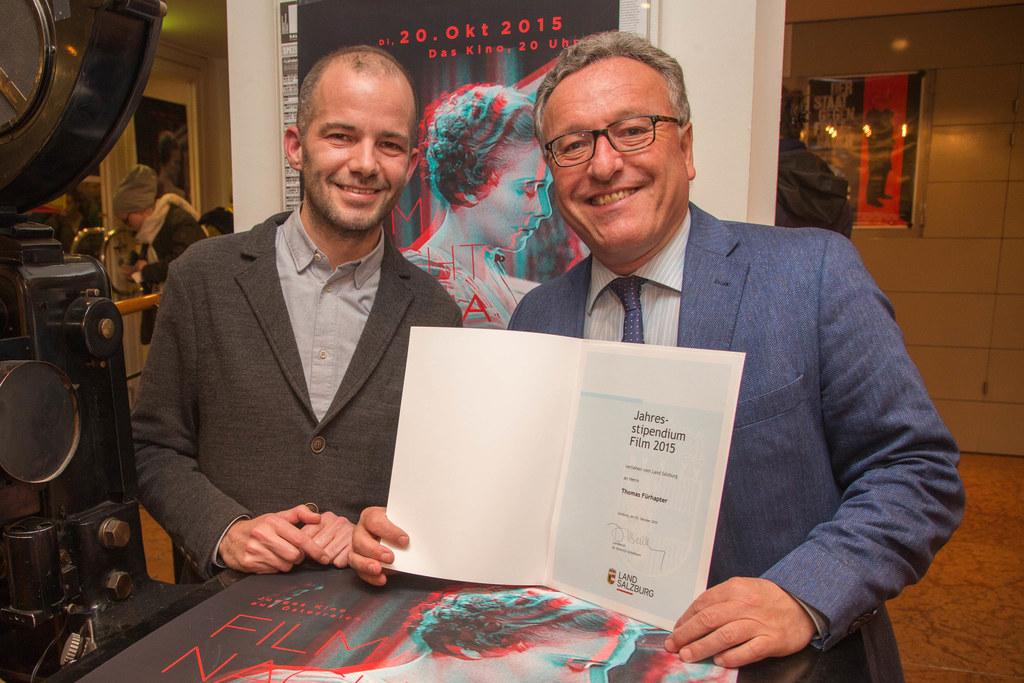 Thomas Fürhapter mit Landesrat Dr. Heinrich Schellhorn