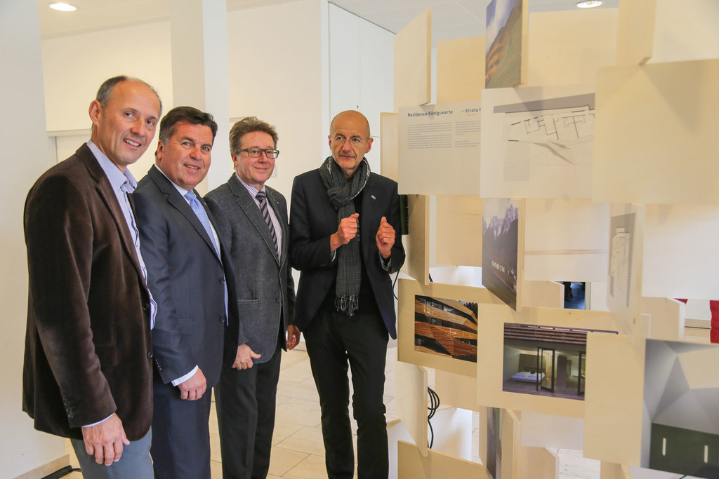 SLT Geschäftsführer Leo Bauernberger, LR Hans Mayr, HR  Dir Franz Heffetter (Dir..