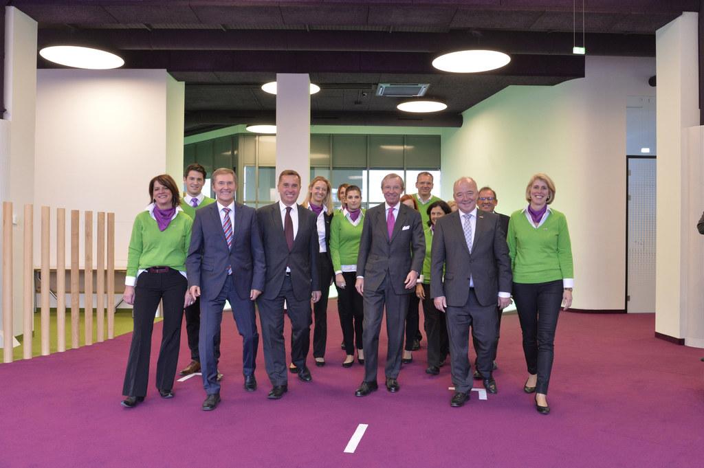Landeshauptmann Dr. Wilfried Haslauer bei der offiziellen Eröffnung des Talente-..
