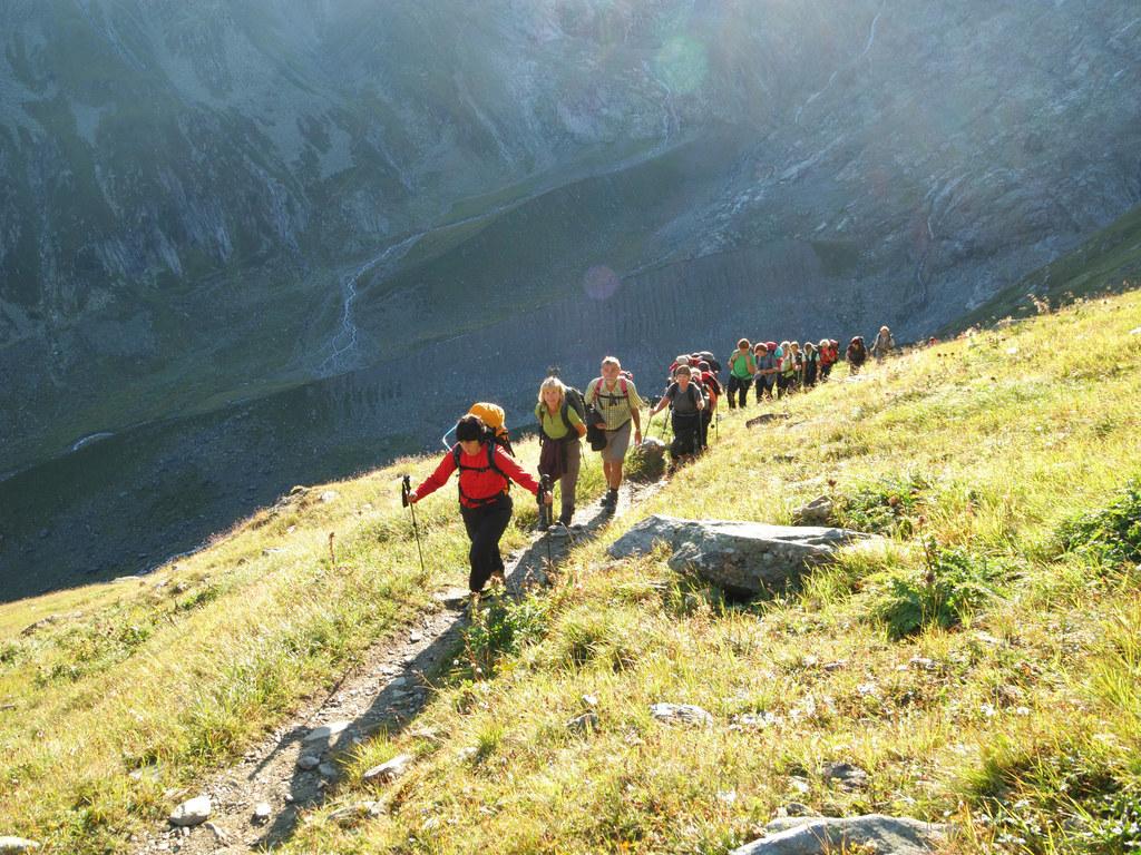 1,6 Millionen Besucherinnen und Besucher zählte der Nationalpark Hohe Tauern im ..