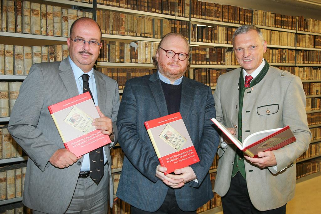 Mag. Dr. Oskar Dohle Leiter Direktor Landesarchiv, Univ.-Prof. Thomas Lindner Vo..