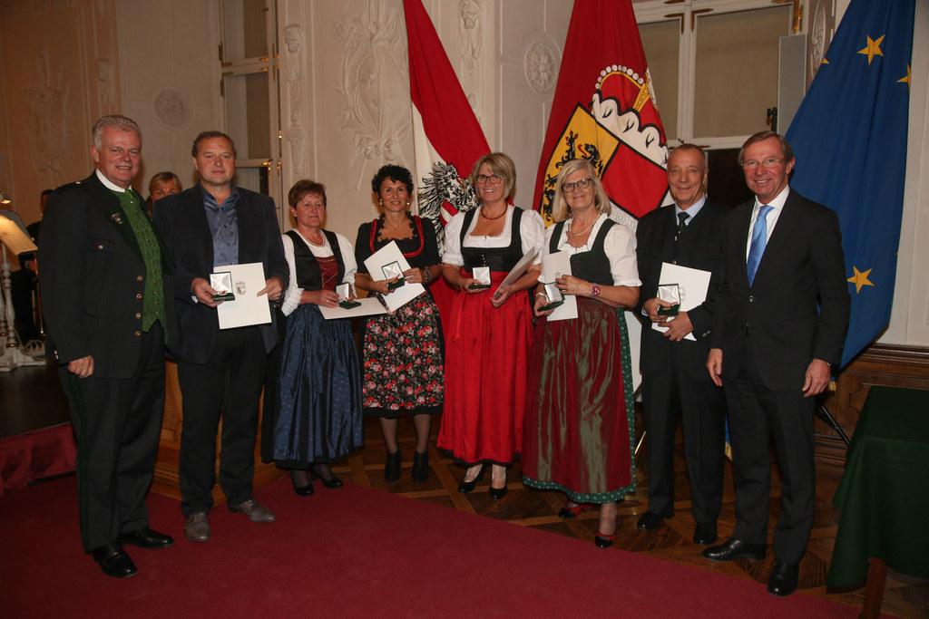 Ehrungsfestakt in der Salzburger Residenz