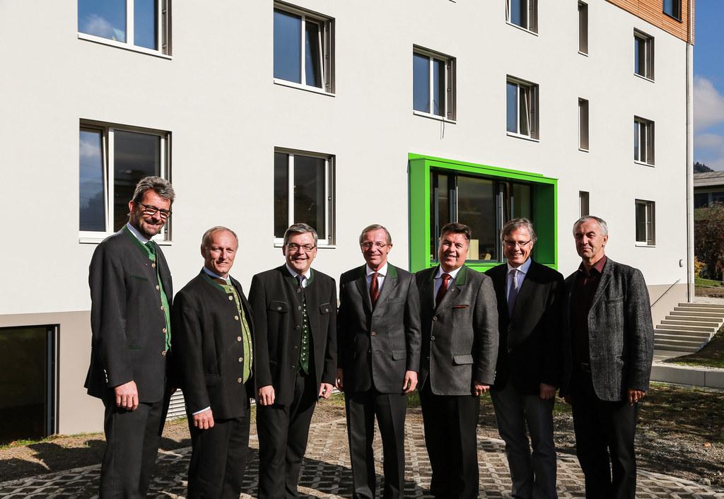 v.l.n.r.: Ing. Christoph Faistauer (Landesschulinspektor) , Ing. Christian Dulln..