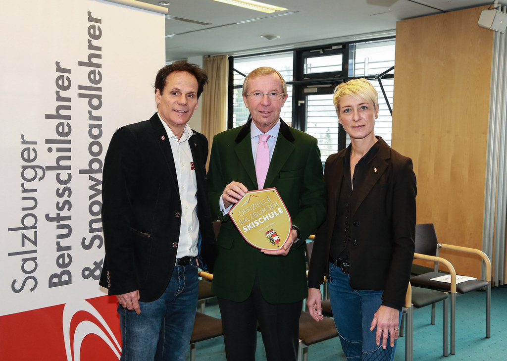 Gerhard Sint (Präsident Salzburger Berufsskilehrer und Snowboardlehrer Verband) ..