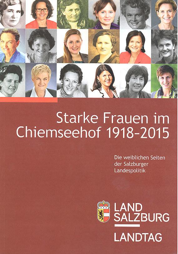 Broschüre Starke Frauen im Chiemseehof