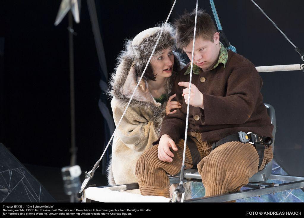 Theater ecce -  Die Schneekönigin