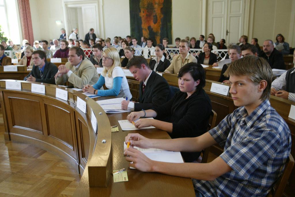 Salzburger Jugendlandtag im Sitzungssaal im Chiemseehof Salzburg (Archivbild)