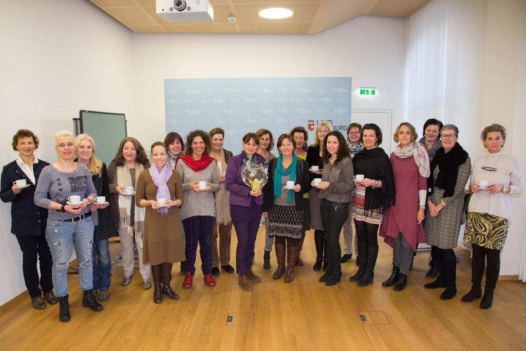 Frauenfrühstück mit allen Frauenvereinen und Landesrätin Martina Berthold