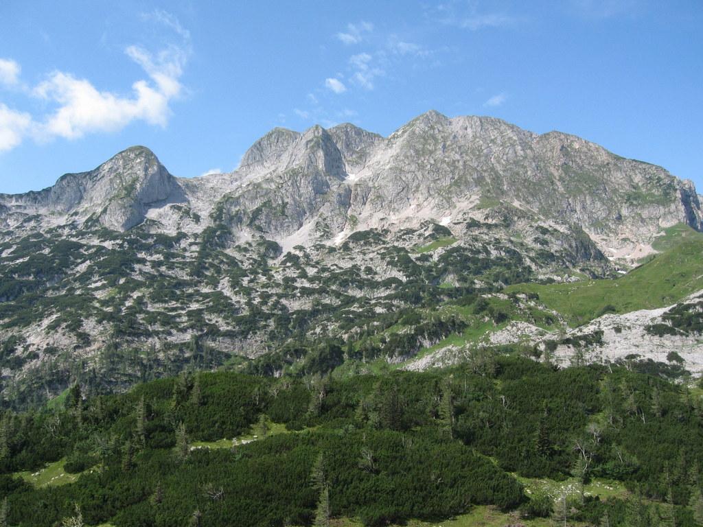 Das Naturschutzgebiet Tennengebirge bewahrt große Trinkwasservorkommen für Salzb..