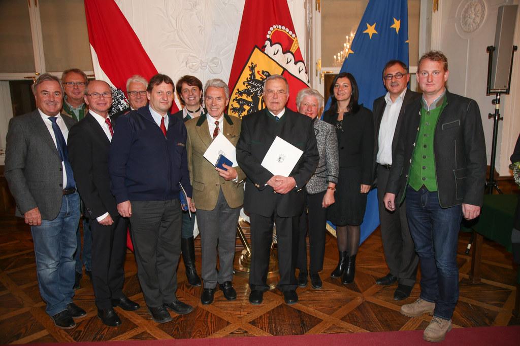 Ehrungsfestakt Verleihung Tourismus-Verdienstzeichen in der Salzburger Residenz