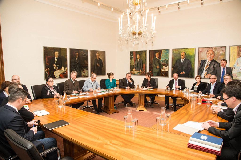 Koalitionsausschuss der Salzburger Landesregierung