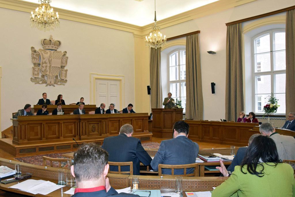 Aktuelle Stunde im Salzburger Landtag