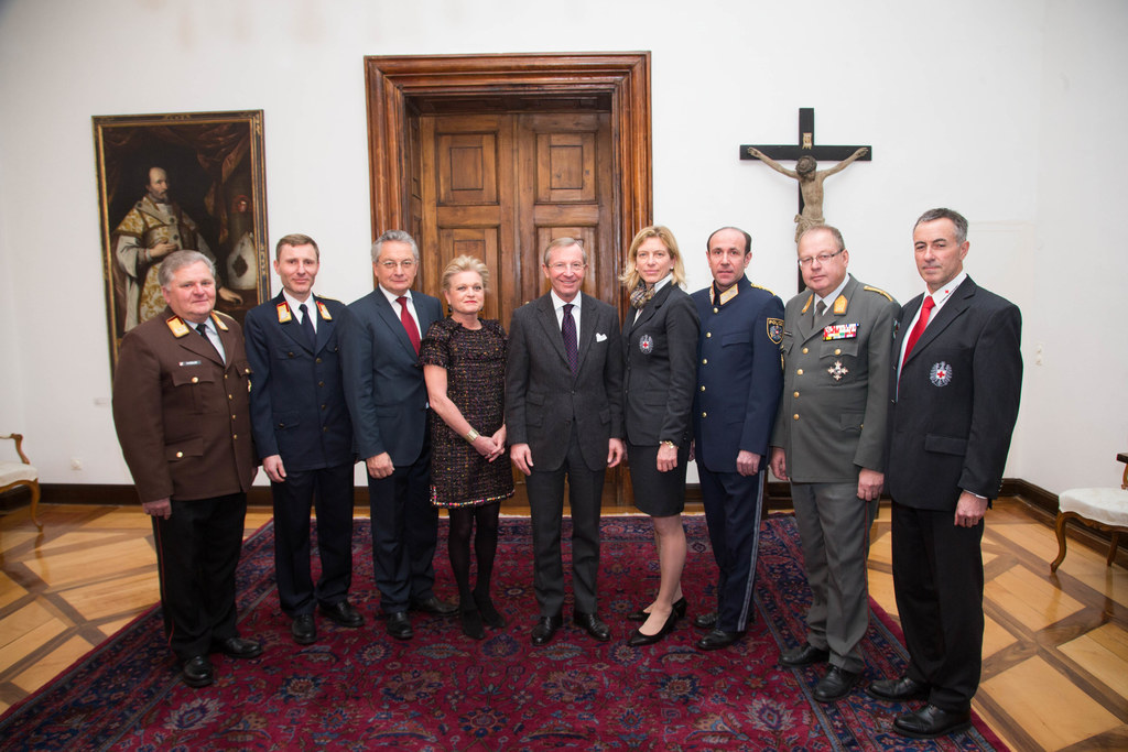 Hermann Kober, Reinhold Ortler, Hans Ratgeb, Christina Chalupsky, Landeshauptman..