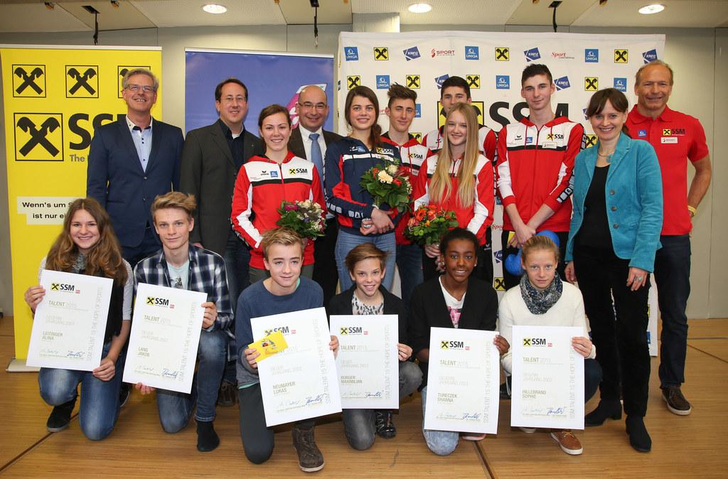 Jochen Gaderer Direktor Sport- und Musik RG, Lukas Sövegjarto Pressesprecher Spa..