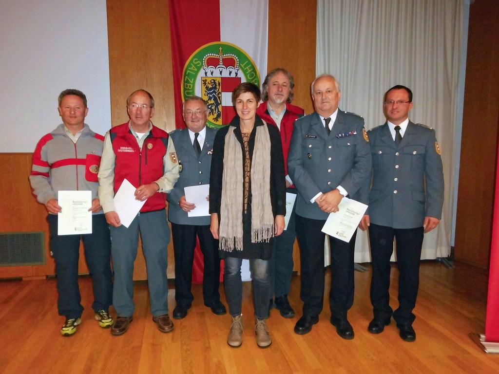 Wolfgang Jagersberger (Pinzgau), Alois Doppler (Lungau), Walter Ochmann (Flachga..