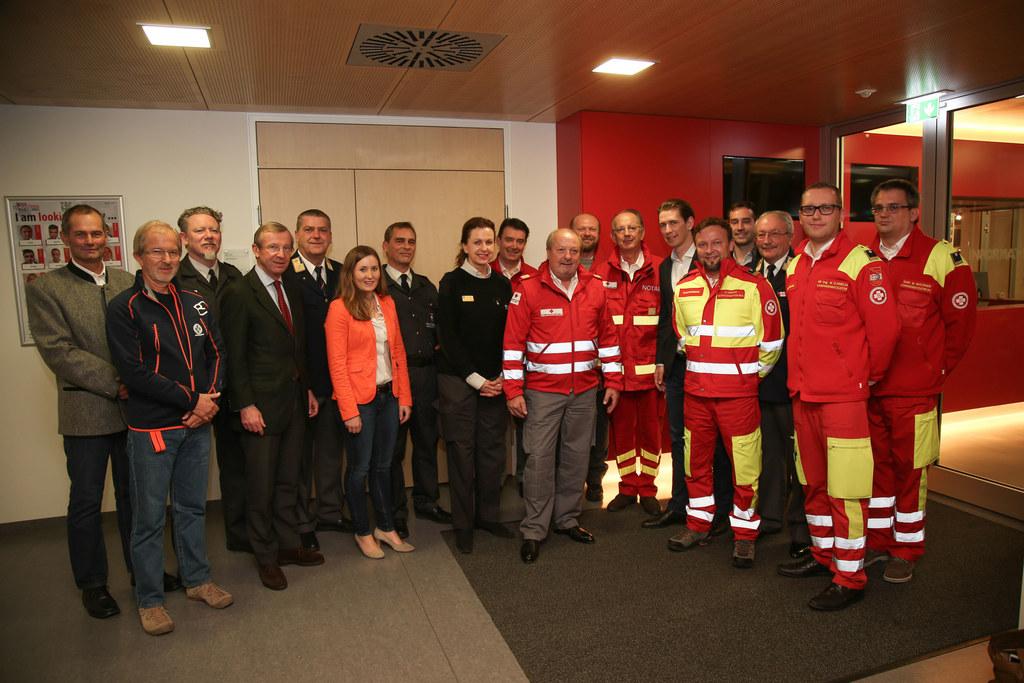 Besuch von Bundesminister Sebastian Kurz und Landeshauptmann Wilfried Haslauer b..