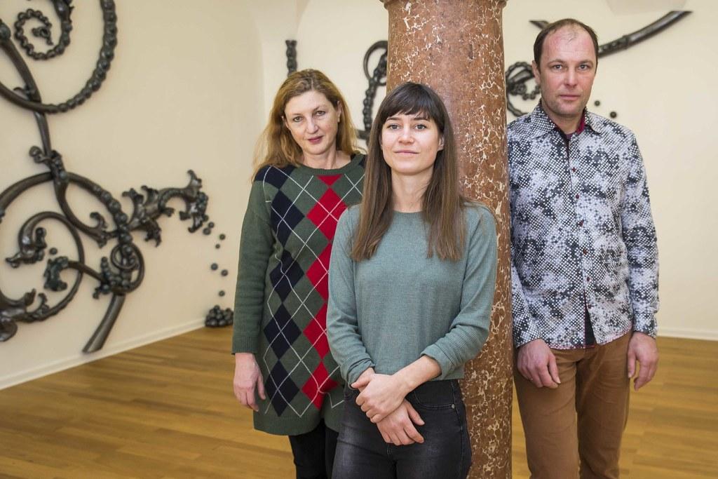 Elisabeth Wörndl, Hannah Breitfuß und Norbert Zuckerstätter
